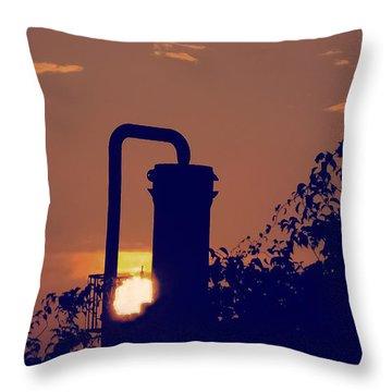 Pittsburgh Sunset  Throw Pillow