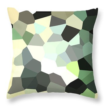 Pixel Money Throw Pillow