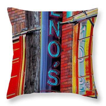 Pizza Time Throw Pillow by Alec Drake
