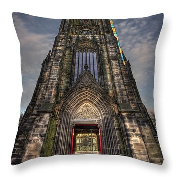 Place Of Higher Power Throw Pillow