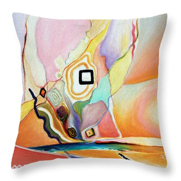 Place Of Untold Treasures Throw Pillow