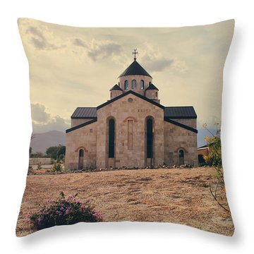 Place Of Worship Throw Pillow by Laurie Search