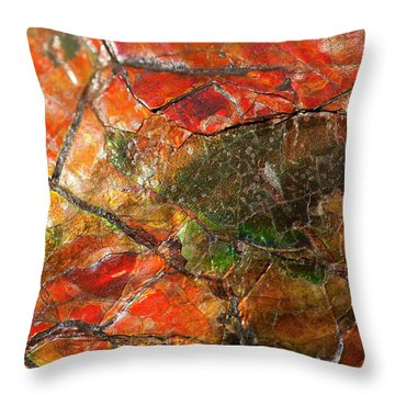 Iridescence Throw Pillows