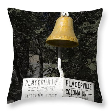 Placerville Bell Throw Pillow