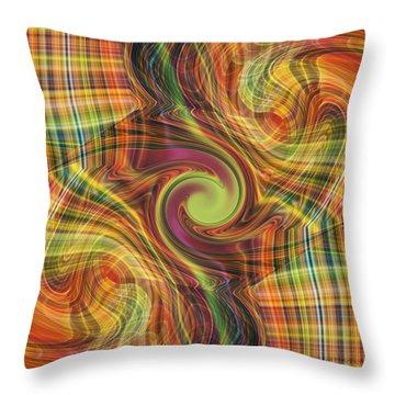 Plaid Tumble Throw Pillow
