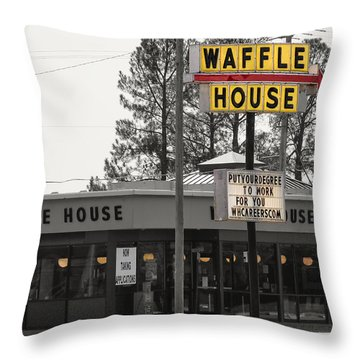 Hire Education Throw Pillow