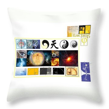 Lesson Planning Throw Pillow
