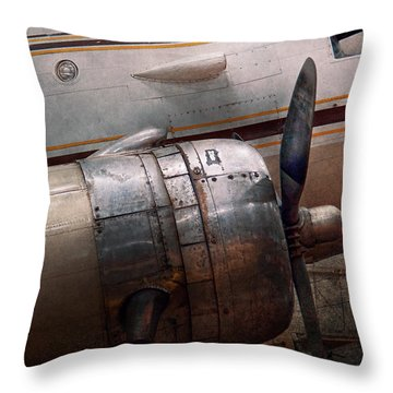 Plane - A Little Rough Around The Edges Throw Pillow