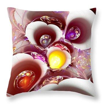 Planet Nursery Throw Pillow by Anastasiya Malakhova