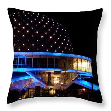 Planetarium Throw Pillow by Silvia Bruno