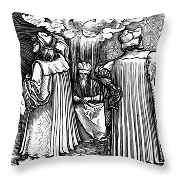 Planetary Systems, 1537 Throw Pillow