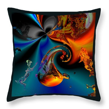 Plate 291 Throw Pillow