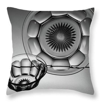 Plate And Bowl Throw Pillow