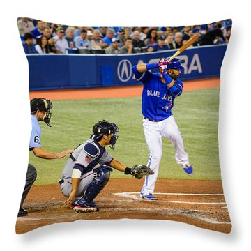 Play At The Plate Throw Pillow