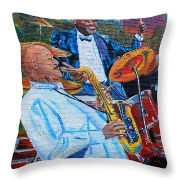 Play It Again Throw Pillow