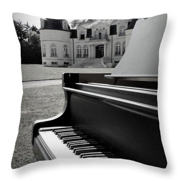 Play Me A Tune Throw Pillow