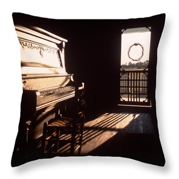 Play Me Throw Pillow by David and Carol Kelly