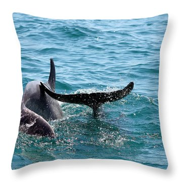 Play Time Throw Pillow by Debra Forand