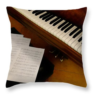 Play Us A Tune Please II Throw Pillow