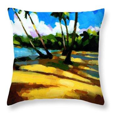 Playa Bonita 2 Throw Pillow by Douglas Simonson