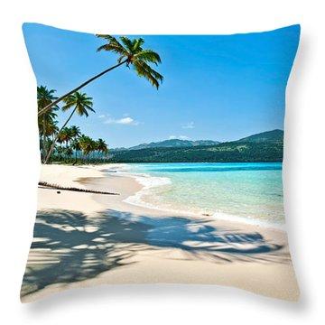 Playa Rincon Throw Pillow