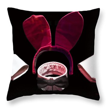 Playboy Bunny Costume Accessories Throw Pillow