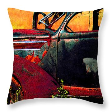 Throw Pillow featuring the photograph Played Out by Christopher McKenzie
