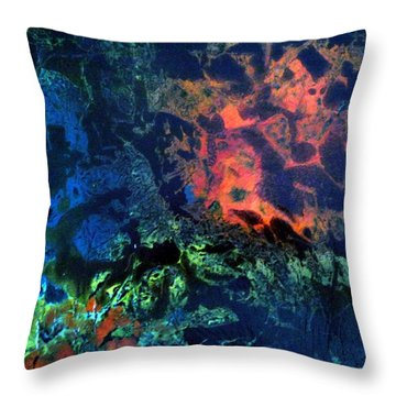 Dendrites Throw Pillow