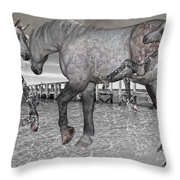 Playful Inspirations Throw Pillow