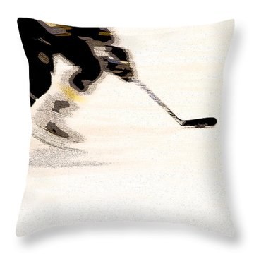 Playing The Game Throw Pillow by Karol Livote