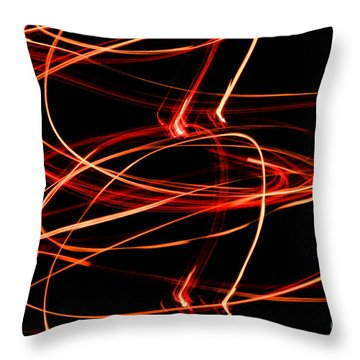 Playing With Fire 13 Throw Pillow