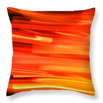 Playing With Fire 17 Throw Pillow
