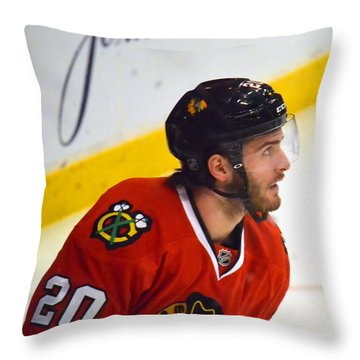 Playoff Saad Throw Pillow