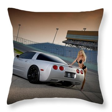 Playtoys Customs Autos Throw Pillow