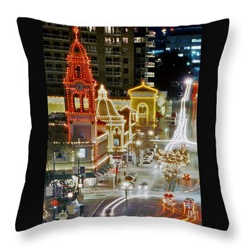 Plaza-kansas City Throw Pillow