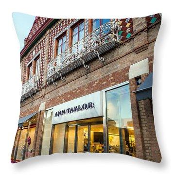 Plaza Store Throw Pillow