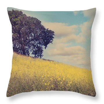 Please Send Some Hope Throw Pillow by Laurie Search