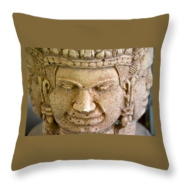 Pleasure Anger Sorrow Joy Throw Pillow