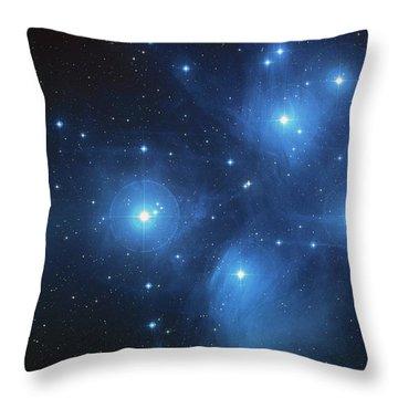 Pleiades - Star System Throw Pillow