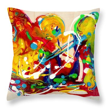 Plenty Of Gifts For Everybody Throw Pillow