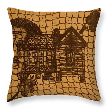Plight Throw Pillow
