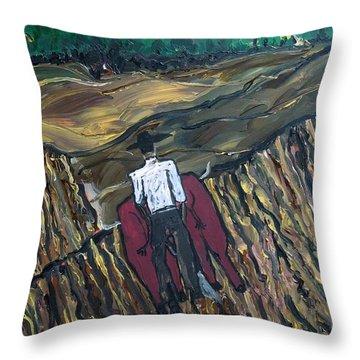 Plow Til' Dawn Throw Pillow