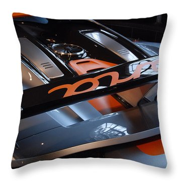 Throw Pillow featuring the photograph Plug In by John Schneider
