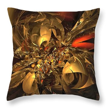 Plundered Treasure 2 Throw Pillow