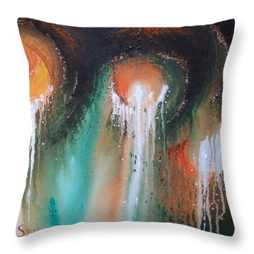 Plunge Throw Pillow