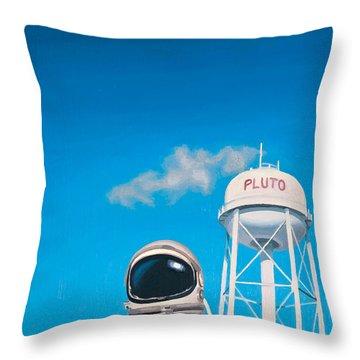 Space Art Throw Pillows