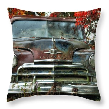 Plymouth Throw Pillow by Alana Ranney