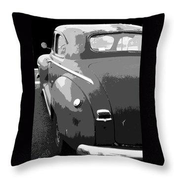 Plymouth The Car Throw Pillow by Ben and Raisa Gertsberg