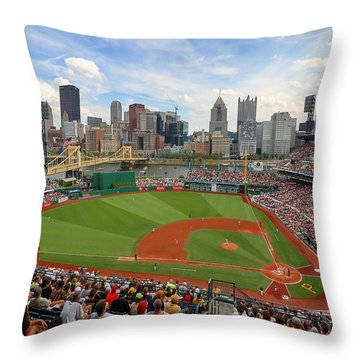 Pnc Park 2014 Throw Pillow
