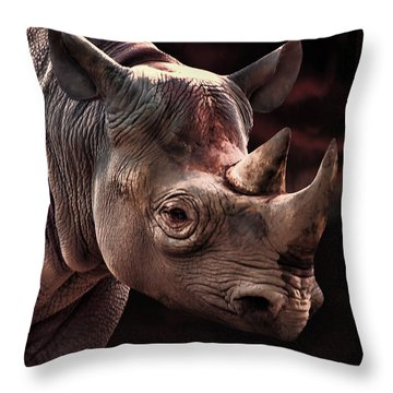 Poachers Moon Throw Pillow